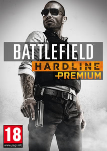 Packaging of Battlefield Hardline - Premium Service [PC]