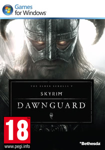 Packaging of The Elder Scrolls V: Skyrim DLC: Dawnguard [PC]