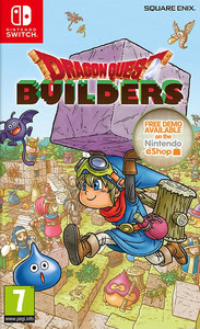 Packaging of Dragon Quest Builders [Switch]