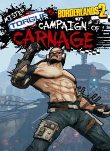 Packaging of Borderlands 2: Mr Torgue's Campaign of Carnage [Mac]