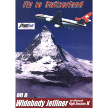 Packaging of Fly to Switzerland FSX Add-on [PC]
