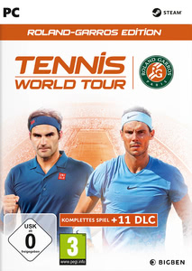 Verpackung von Tennis World Tour Roland Garros Edition [PC]