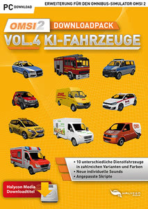 Verpackung von OMSI 2 Downloadpack Vol. 4 - KI-Fahrzeuge [PC]