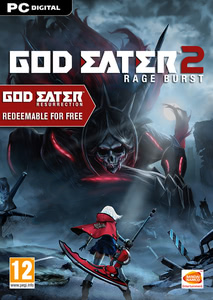 Packaging of God Eater 2 Rage Burst [PC]