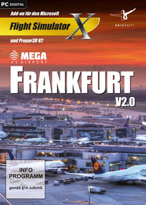 Verpackung von FSX Mega Airport Frankfurt V2.0 [PC]