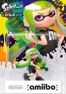 Verpackung von amiibo Splatoon Inkling-Mädchen (Hellgrün) [Wii U / 3DS]