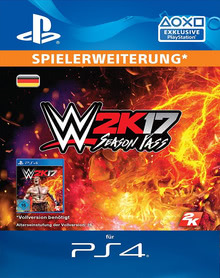 Verpackung von WWE 2K17 Season Pass [PS4]