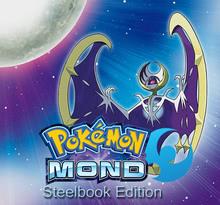 Verpackung von Pokemon Mond Steelbook [3DS]
