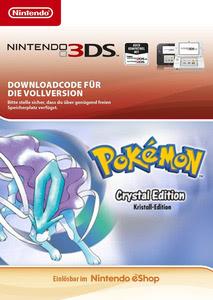Verpackung von Pokémon Kristall-Edition [3DS]