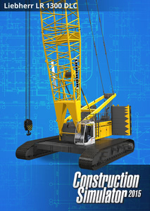 Packaging of Construction Simulator 2015  - DLC 4 - Liebherr LR1300 [PC]