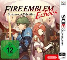 Verpackung von Fire Emblem Echoes: Shadows of Valentia [3DS]