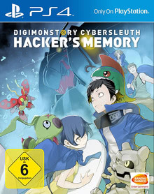 Verpackung von Digimon Story: Cyber Sleuth - Hacker´s Memory [PS4]