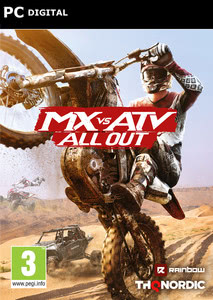 Packaging of MX vs. ATV All Out [PC]