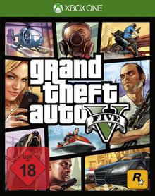 Verpackung von Grand Theft Auto V [Xbox One]