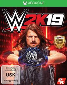 Verpackung von WWE 2K19 [Xbox One]