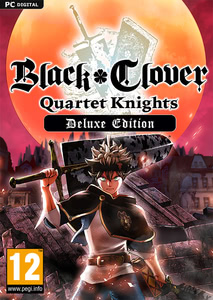 Packaging of Black Clover: Quartet Knights Deluxe Edition [PC]