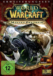 Verpackung von World of WarCraft Mists of Pandaria [PC]