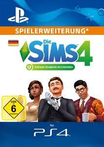 Verpackung von Sims 4 Vintage Glamour Stuff - Deutsches PSN-Konto [PS4]