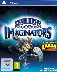 Verpackung von Skylanders Imaginators Starter Pack Crash Edition [PS4]