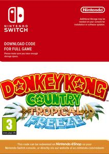 Packaging of Donkey Kong Country Tropical Freeze [Switch]