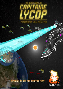 Packaging of Captain Lycop - The Invarsion of the Heters [PC]