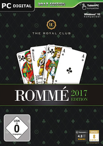 Verpackung von The Royal Club Rommé 2017 [PC]