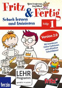 Verpackung von Fritz und Fertig 1 Vol 2.0 - Schach lernen und trainieren [PC]