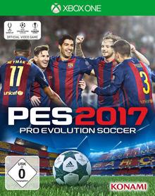 Verpackung von Pro Evolution Soccer 2017 [Xbox One]