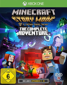 Verpackung von Minecraft: Story Mode - The Complete Adventure [Xbox One]