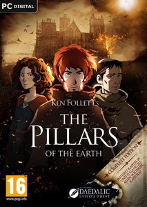 Packaging of Ken Follett's The Pillars of the Earth [PC / Mac]