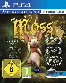 Verpackung von Moss VR [PS4]