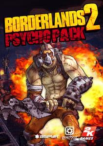 Packaging of Borderlands 2: Psycho Pack [Mac]