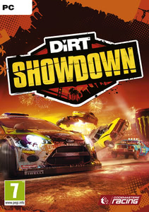 Packaging of Dirt Showdown [PC]