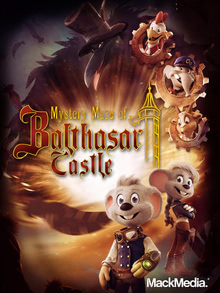 Packaging of Mystery Maze Of Balthasar Castle [Mac]