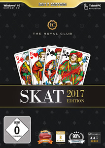 Verpackung von The Royal Club Skat 2017 [PC]