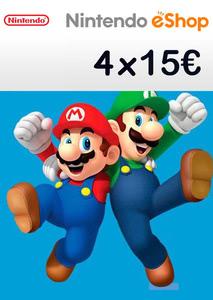 Verpackung von Nintendo eShop Guthaben Code 60 Euro [3DS / Wii U / Switch]