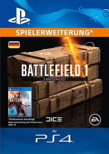 Verpackung von Battlefield 1 3 Battlepacks [PS4]