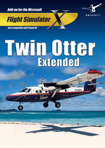 Packaging of FSX Twin Otter X Extended [PC]