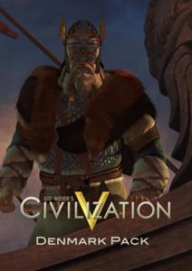 Verpackung von Sid Meiers Civilization V Denmark Pack (DLC) [PC]