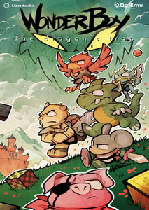 Packaging of Wonder Boy: The Dragon's Trap [PC]