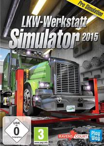 Verpackung von LKW-Werkstatt Simulator 2015 [PC]