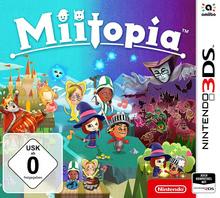 Verpackung von Miitopia [3DS]