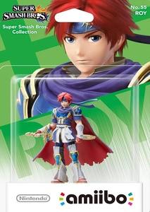 Verpackung von amiibo Smash Roy #55 [Wii U / 3DS]