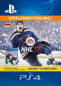 Verpackung von NHL 17 Points 2200 Punkte [PS4]