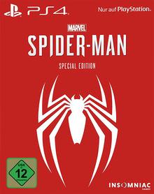 Verpackung von Marvel's Spider Man Special Edition [PS4]
