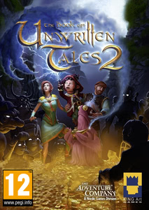 Packaging of The Book of Unwritten Tales 2 [Mac]