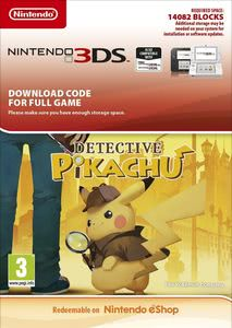 Packaging of Detective Pikachu [3DS]
