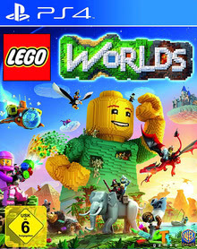 Verpackung von Lego Worlds [PS4]