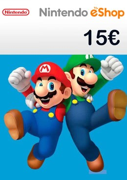 nintendo eshop guthaben code 15 euro 3ds wii u switch. Black Bedroom Furniture Sets. Home Design Ideas