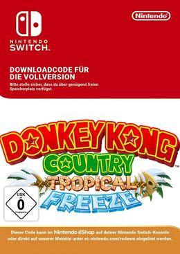 Donkey kong country tropical freeze [switch nintendo e-shop code.
